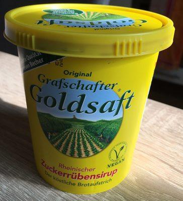 Original Grafschafter Goldsaft Zuckerrübensirup - Produkt