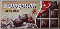 Schogetten Ciocolată cu lapte cu bucățele de biscuiți cu ovăz - Продукт - ro