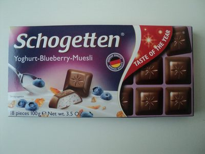 Schogetten Yoghurt-Blueberry-Muesli - Product
