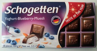 Schogetten Yoghurt-Blueberry-Muesli - Продукт