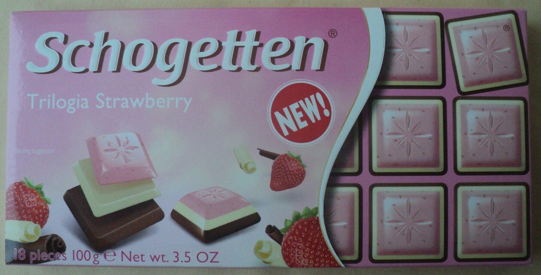 Schogetten Trilogia Strawberry - Produit