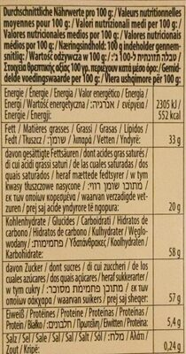 Chocolat trilogia strawberry - Nutrition facts - ro