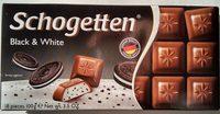 Chocolate Schogetten Black & White - Product