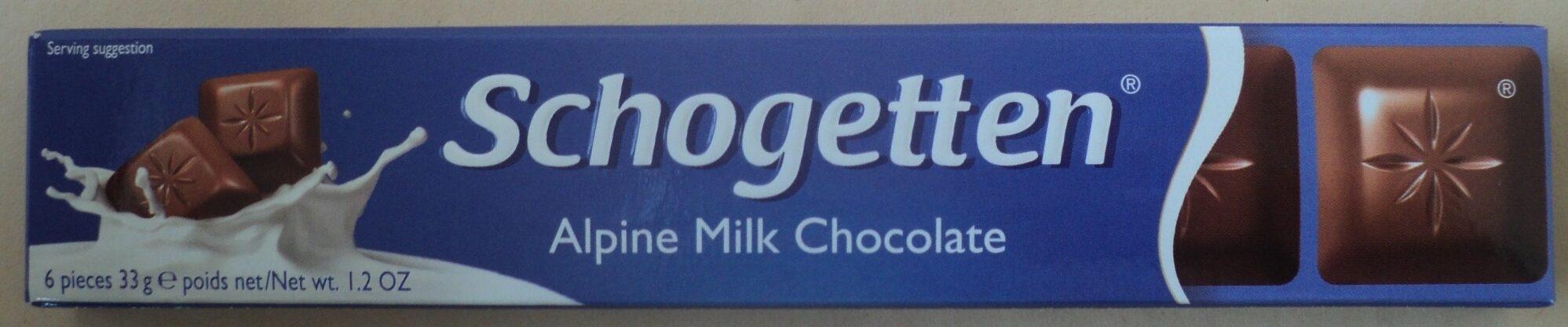 Schogetten Ciocolată cu lapte - Produkt - ro