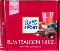 Ritter Sport Rum Trauben Nuss - Produkt