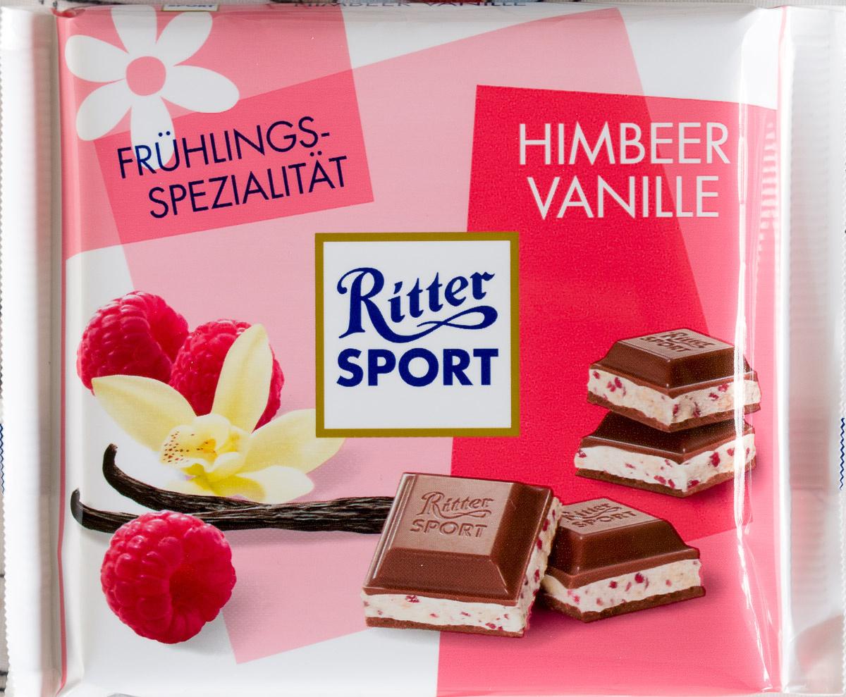 Ritter Sport Himbeer Vanille - Produit - de