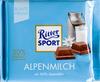 Ritter Sport Chocolat supérieur au lait des Alpes - Produkt