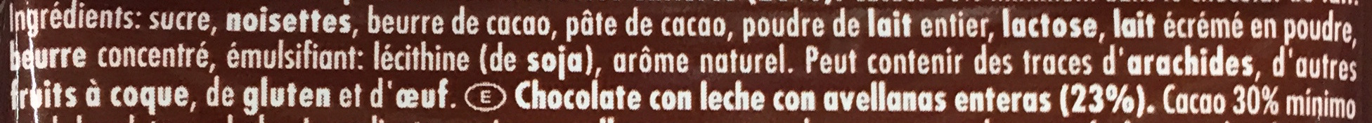 Whole Hazelnuts - Ingredienser - fr