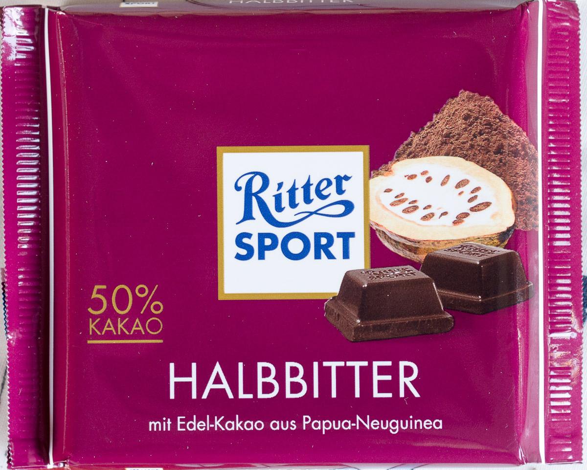 Ritter Sport noir - Produit