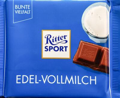 Ritter Sport Edel-Vollmilch - Produit - de
