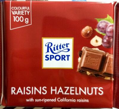 Raisins Hazelnuts - Prodotto - en