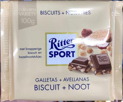 Ritter Sport Keks + Nuss - Produit - fr