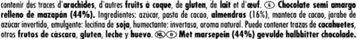 Ritter Sport Marzipan - Ingredientes
