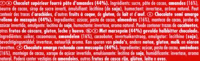 Marzipan - Ingrédients - fr