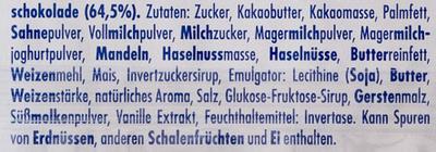 Ritter Sport mini Bunter Mix - Ingredienti - de