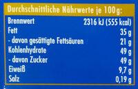 Vollmilch Laktosefrei - Nutrition facts - de