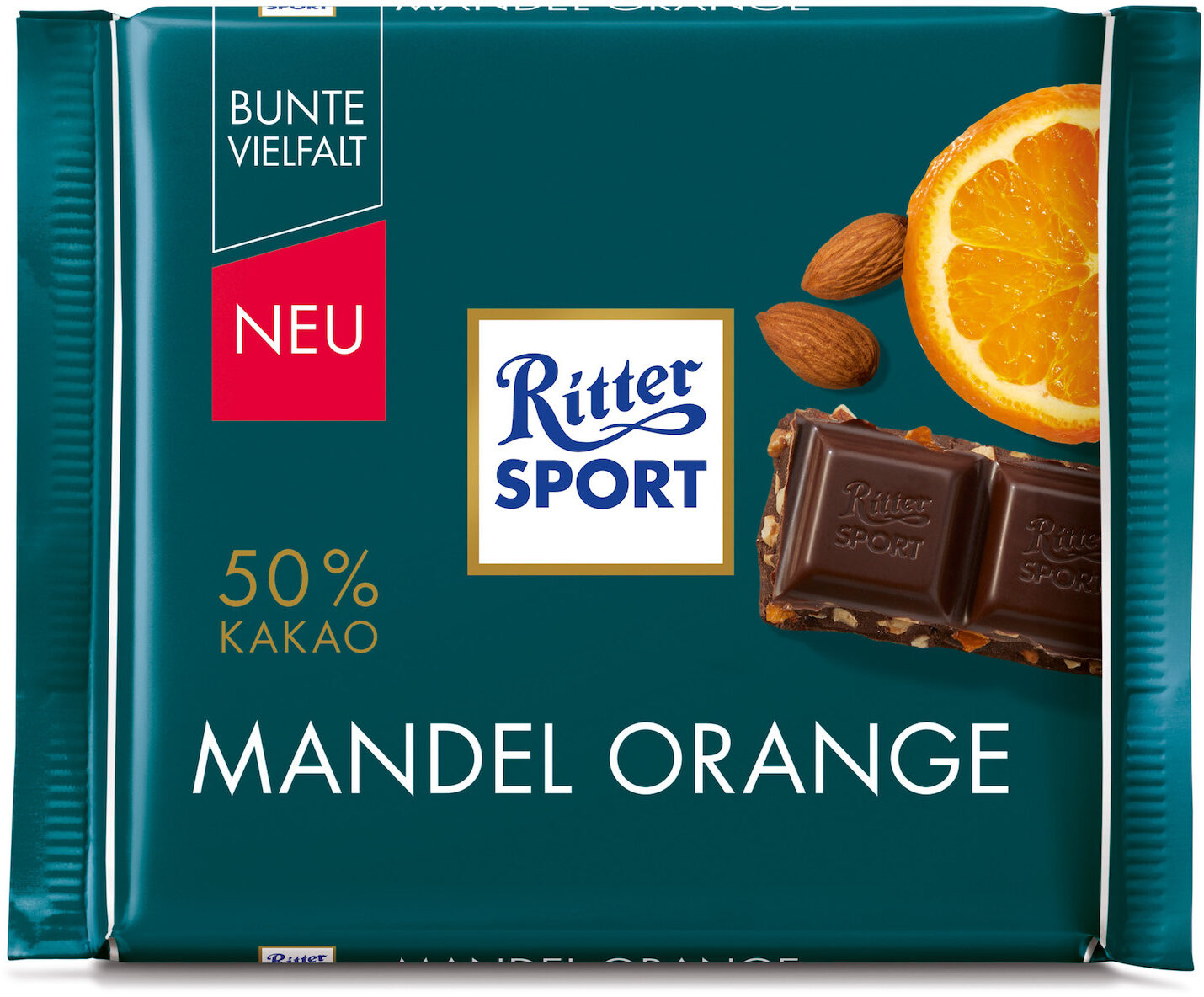 Ritter Sport Mandel Orange - Product - de