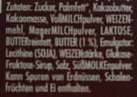Knusperkeks - Ingredienser - de