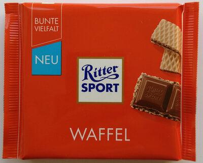 Vollmilchschokolade Waffel - Produkt - de