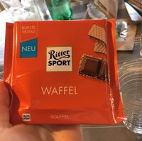 Vollmilchschokolade Waffel - Produit - fr