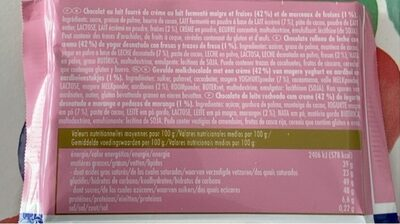 Chocolat Stawberry Yogurt - Nutrition facts - de