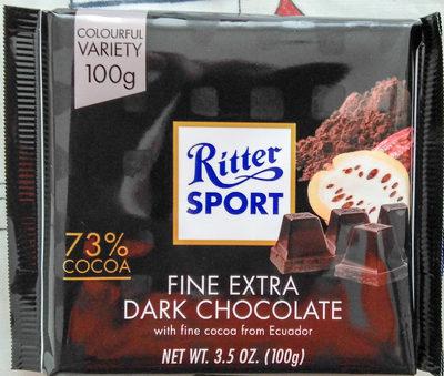 Chocolat noir extra fin - Product