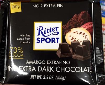 Ritter Sport Edel-Bitter - Produit - fr