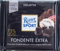 Ritter Sport Edel-Bitter - Prodotto