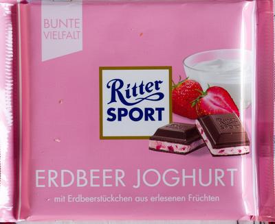 Ritter Sport Erdbeer Joghurt - Produkt - de