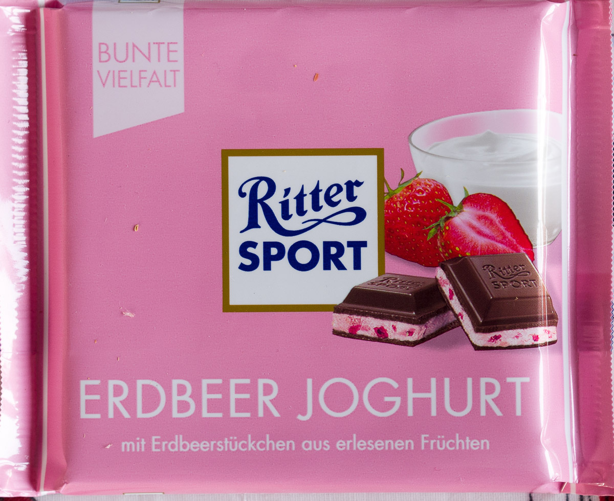 Ritter Sport Erdbeer Joghurt - Produkt