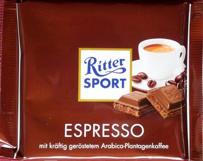 Ritter Sport Espresso - Product