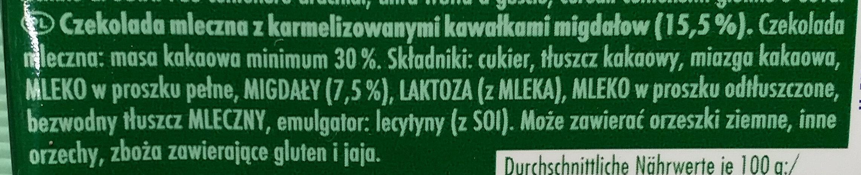 Mandel Zauber - Składniki - pl