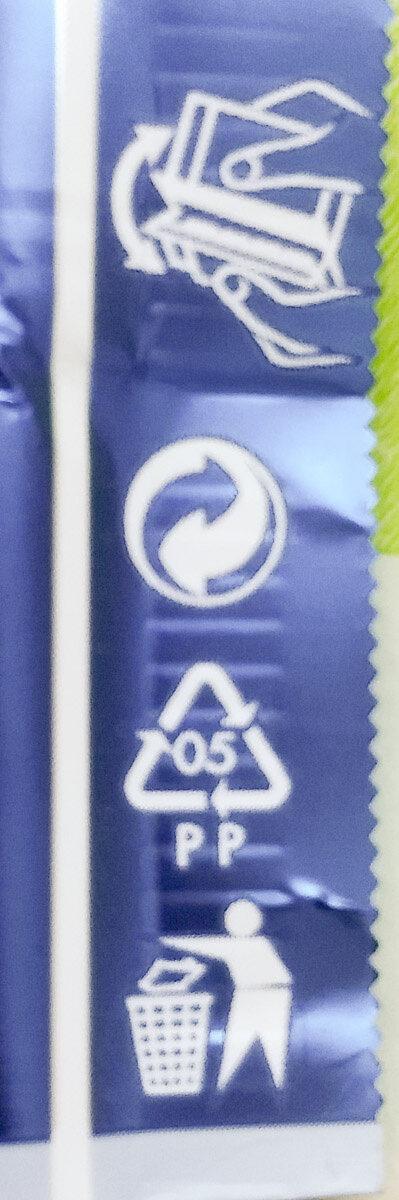Kokosmakrone - Instruction de recyclage et/ou information d'emballage - de