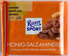 Ritter Sport Honig-Salz-Mandel - Produit