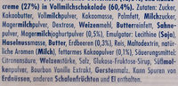 Ritter Sport mini Mix des Jahres - Ingredients - de