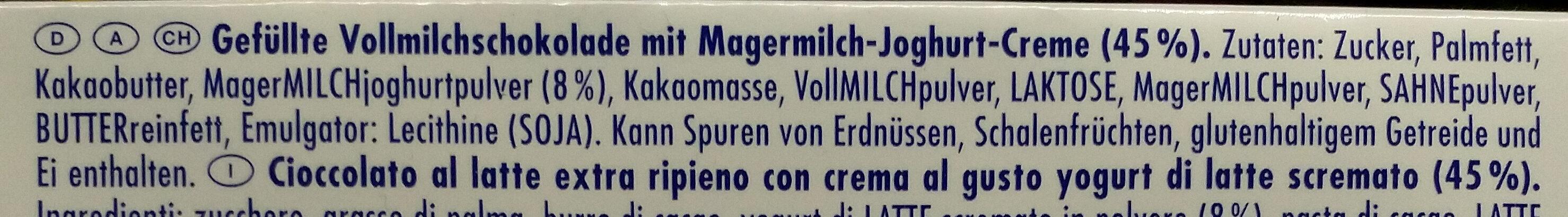Tag Traum Joghurt - Ingrediënten