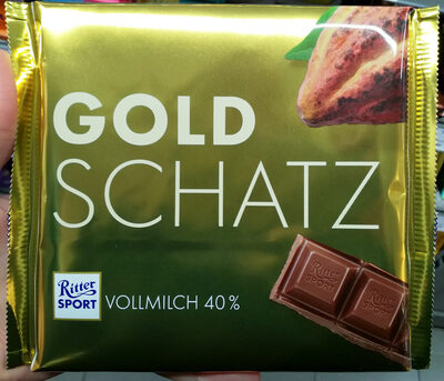 Ritter Sport Goldschatz - Product - de
