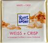 Ritter Sport Weiß + Crisp - Produkt