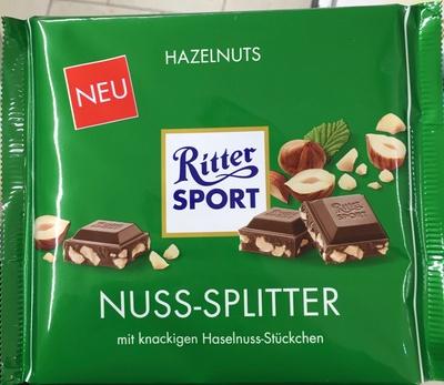 Ritter Sport Nuss-Splitter - Produit - fr