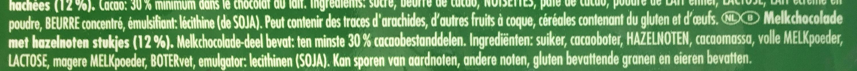 Ritter Sport Nuss-Splitter - Ingrediënten - nl