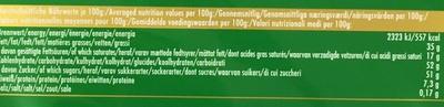 Ritter Sport Nuss-Splitter - Informations nutritionnelles - fr