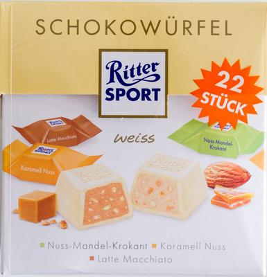 Ritter Sport Schokowürfel weiß - Product