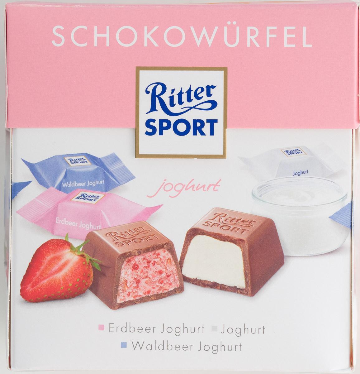 Ritter Sport Schokowürfel joghurt - Produkt - de