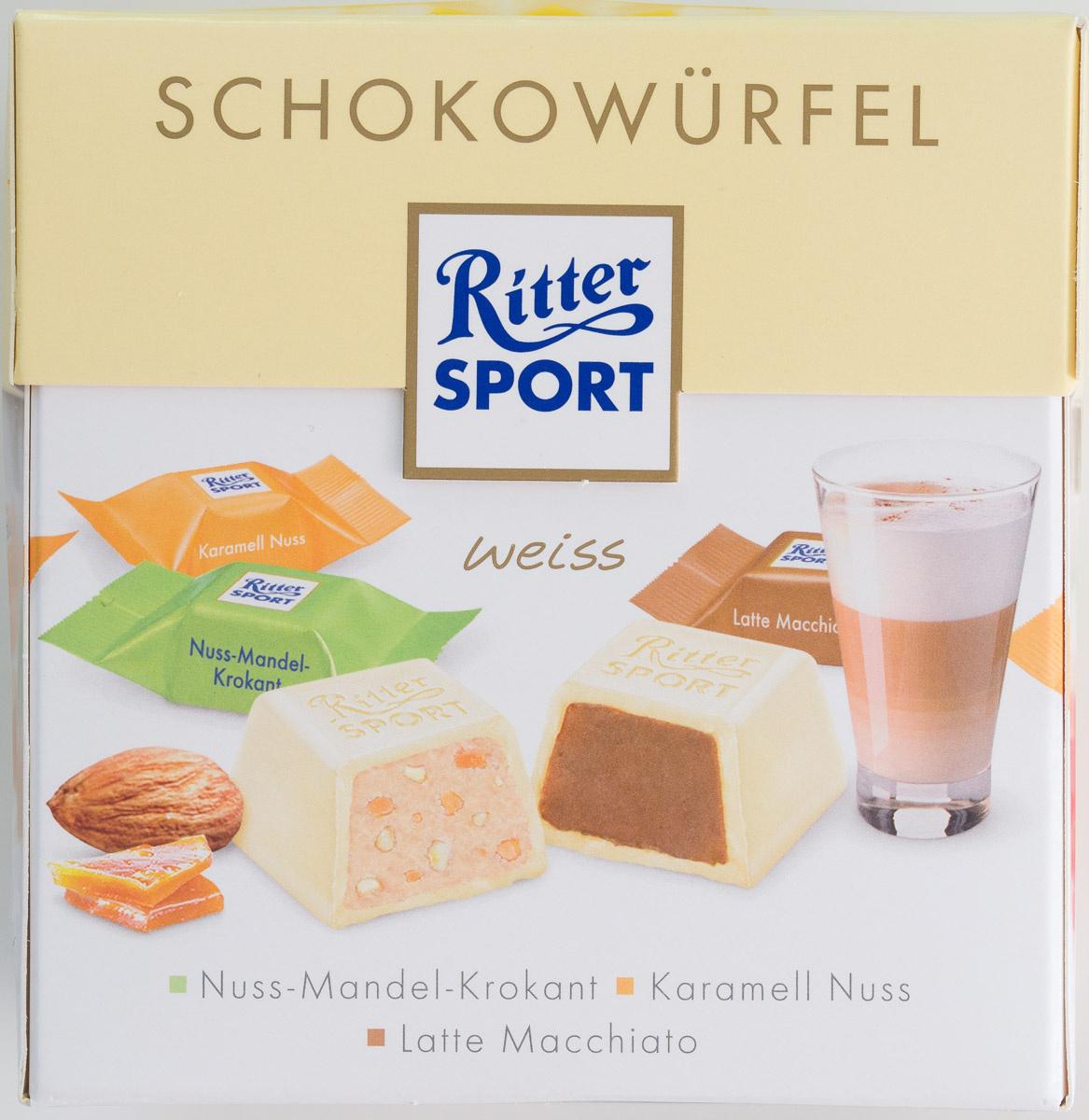 Ritter Sport Schokowürfel weiß - Produkt