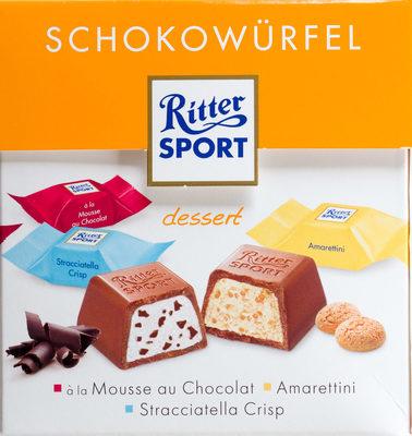 Ritter Sport Schokowürfel dessert - Product
