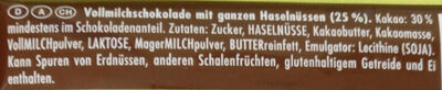 Voll-Nuss - Ingredienti - de