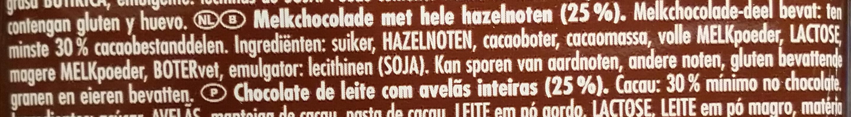 Voll-Nuss - Ingrediënten - nl