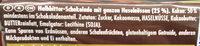 Dunkle Voll-Nuss - Ingredienser