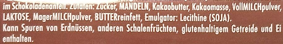 Ganze Mandel - Ingredienti - de