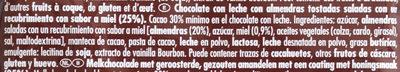Honig-Salz-Mandel - Ingredientes